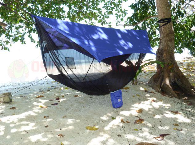 Hammock Bliss Sky Tent 2 Blue Osograndeknives