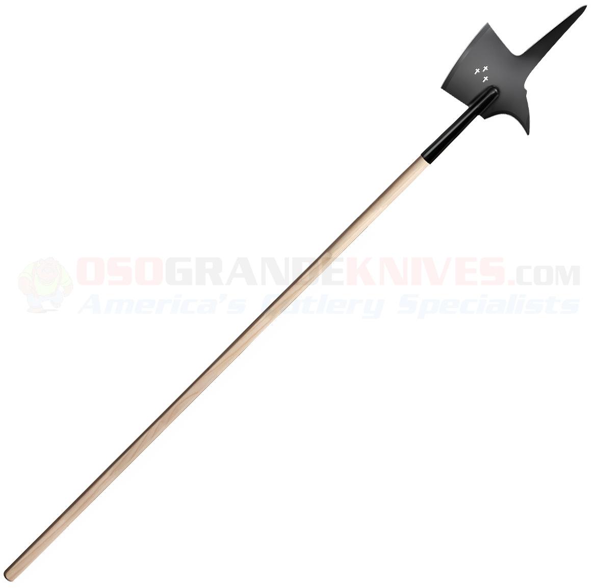 Cold Steel Maa Swiss Halberd Battle Axe Spear 89msw
