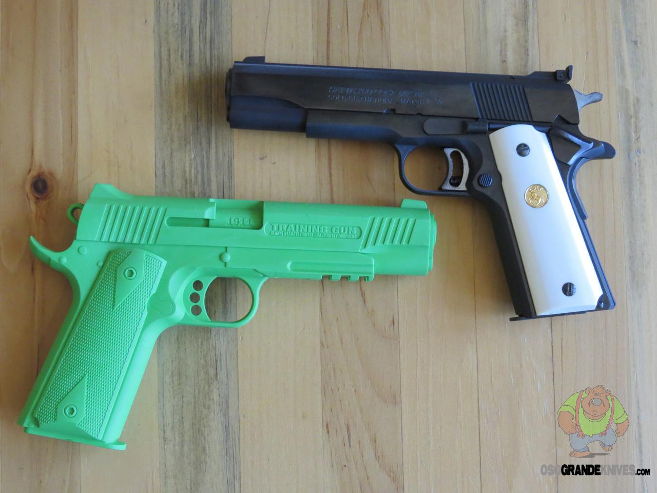 Cold Steel 1911 Colt Rubber Training Pistol 92rgc11