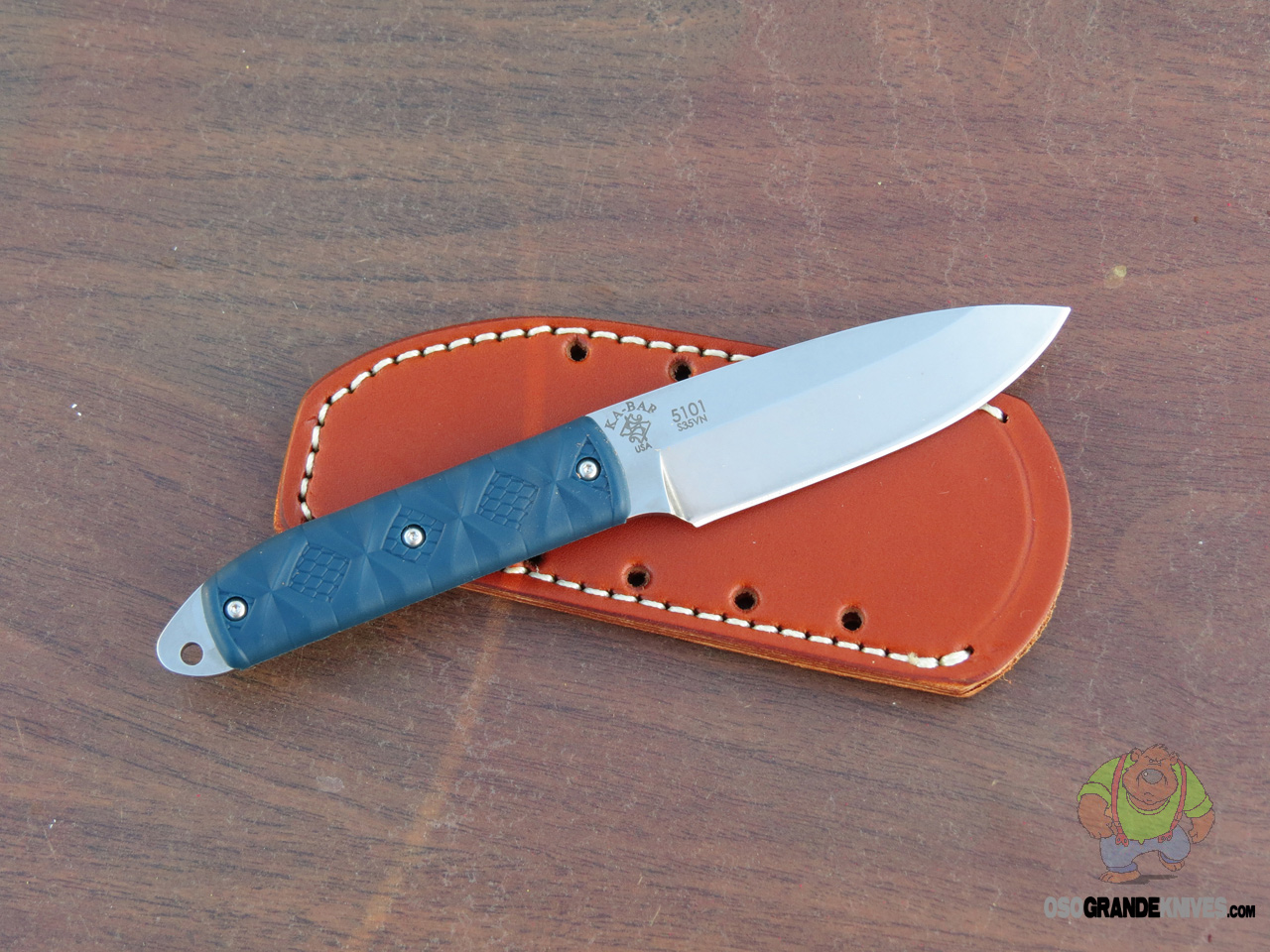 Ka Bar Snody Boss Fixed Blade Knife 3 5 Inch 5101