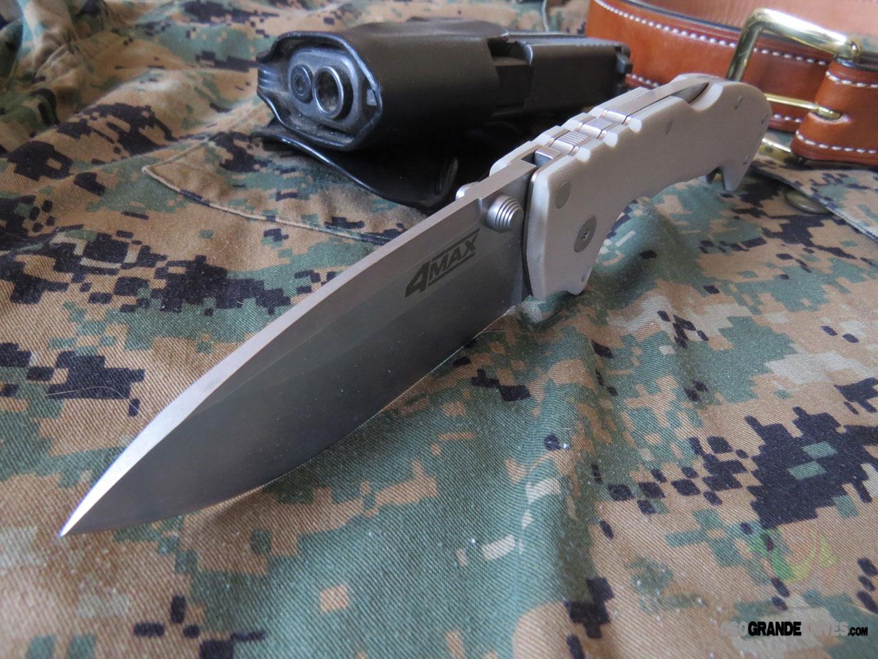 Cold Steel 4 Max Folding Knife 4 Inch Cpm 20cv Satin