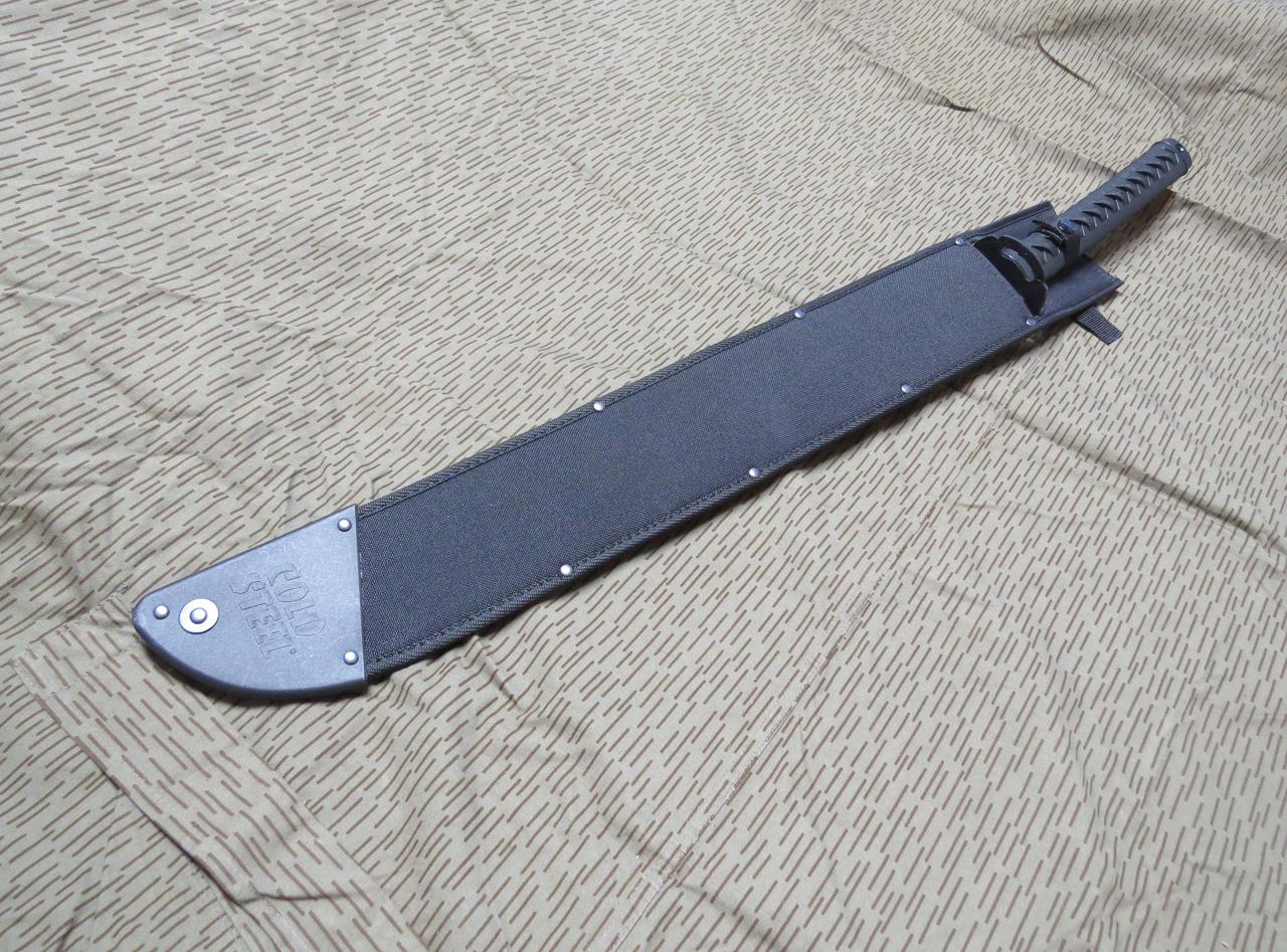 Cold Steel Tactical Katana Machete 24 Inch 1055 Blade