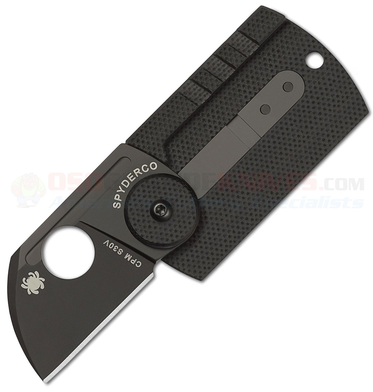 Spyderco Panchenko Dog Tag Folder Slip Joint Knife 1 22