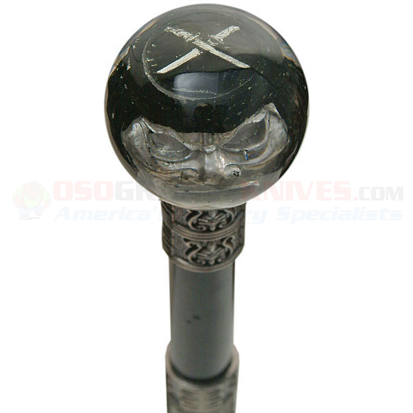 Ghost Pirate Walking Cane Sword 36 Inches Overall Round