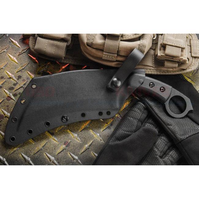Tops Knives Tac Tops Karambit Fixed Blade Knife Tac01