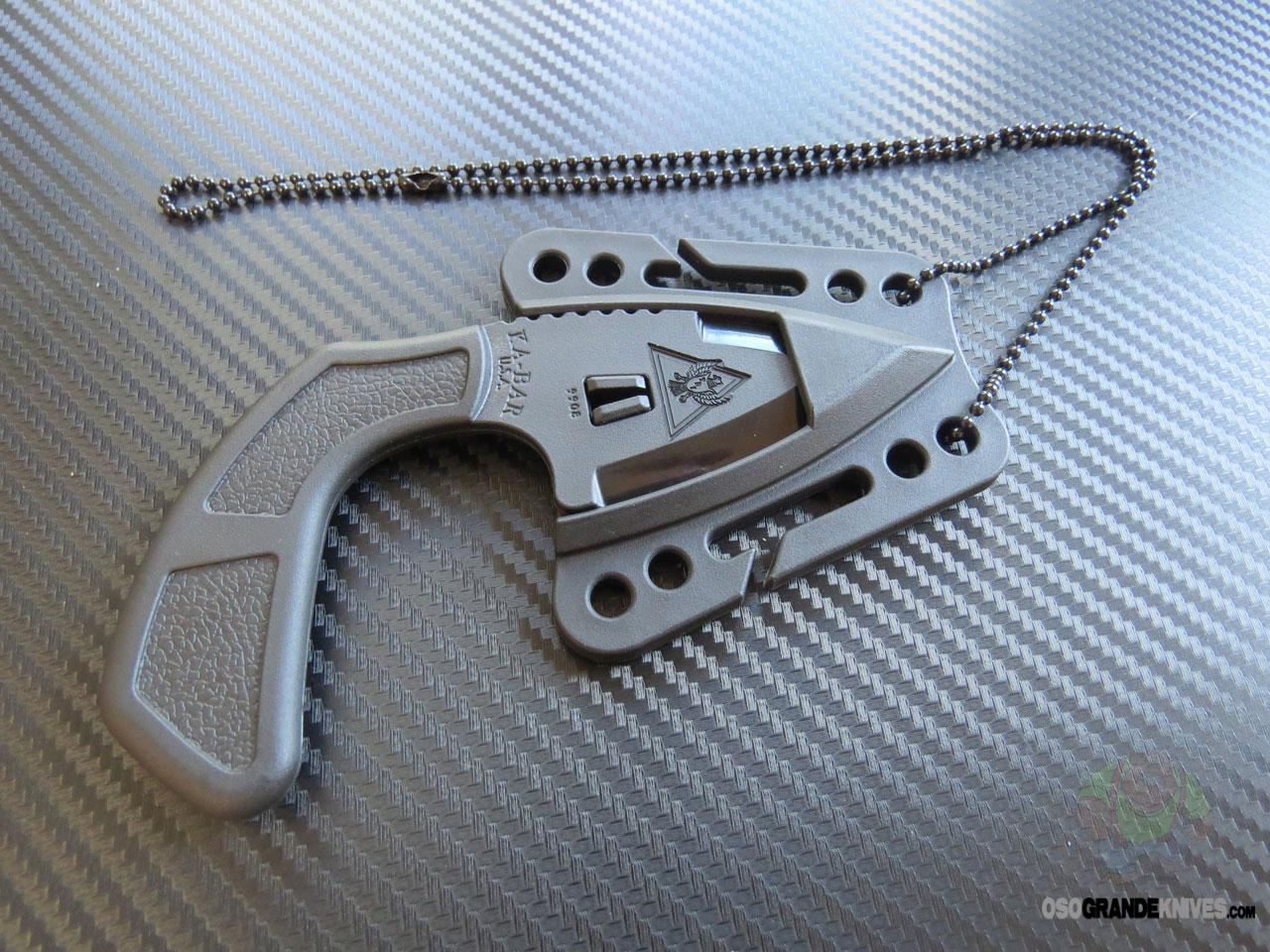 Ka Bar Tdi Shark Bite Fixed Blade Non Metalic Self Defense