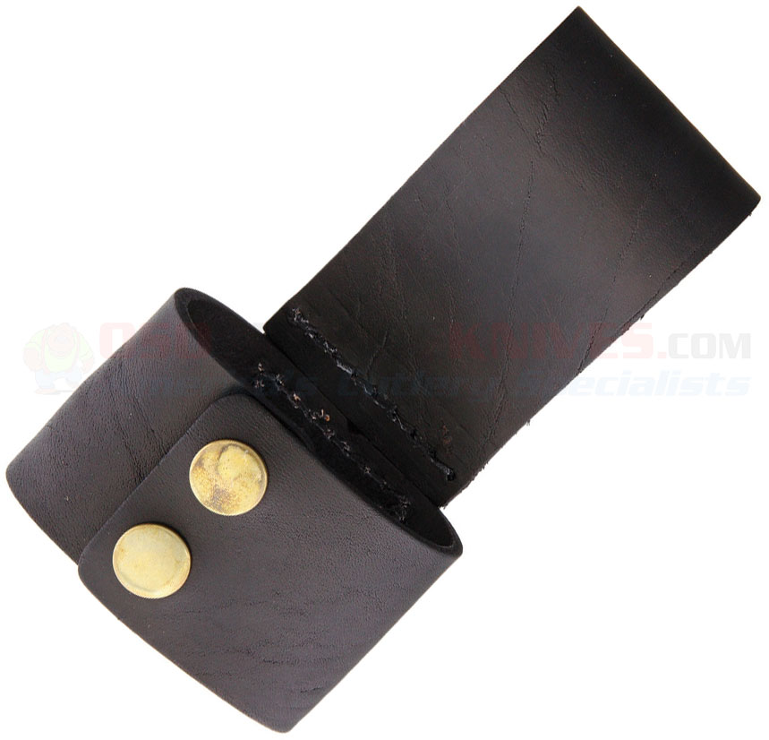 axe belt holder dimensions 3 x 2 x 5 5 black leather sh1089