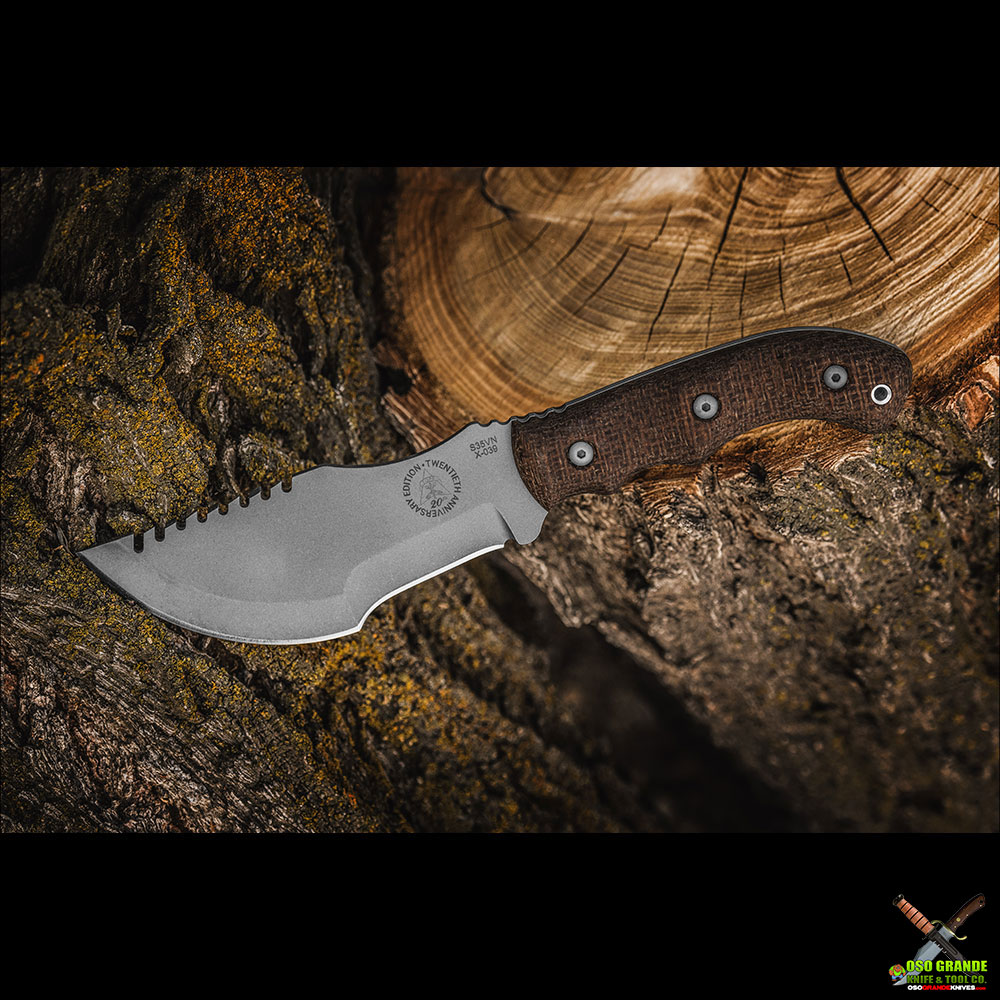 TOPS Knives 20th Anniversary Tom Brown Tracker #3 Knife (5 5 in