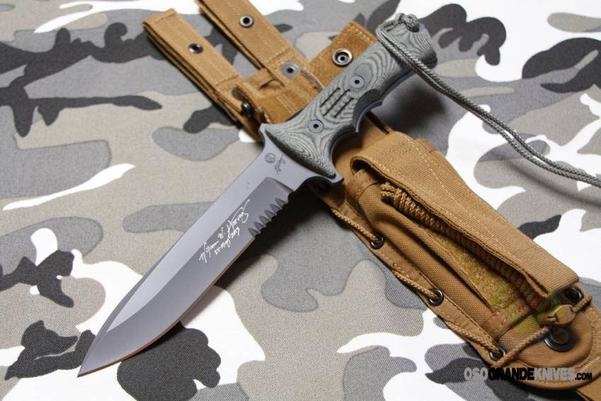 Chris Reeve Green Beret Combat Knife 7 Inch S35vn Blade