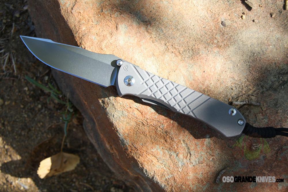 Chris Reeve Umnumzaan Tactical Folding Knife Osograndeknives