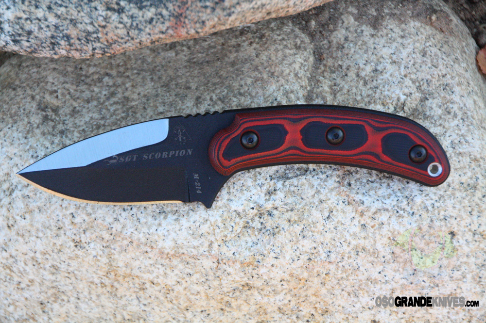 Tops Knives Sgt Scorpion Knife Fixed Blade Sgts 01