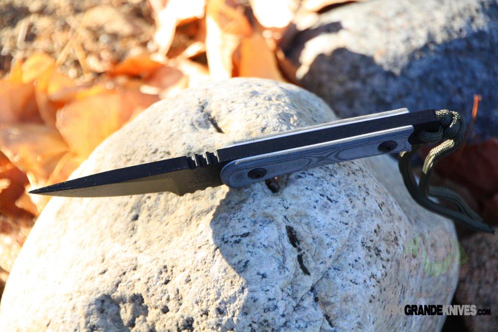 Tops Knives Spokane Street Scalpel Knife Micarta Handle