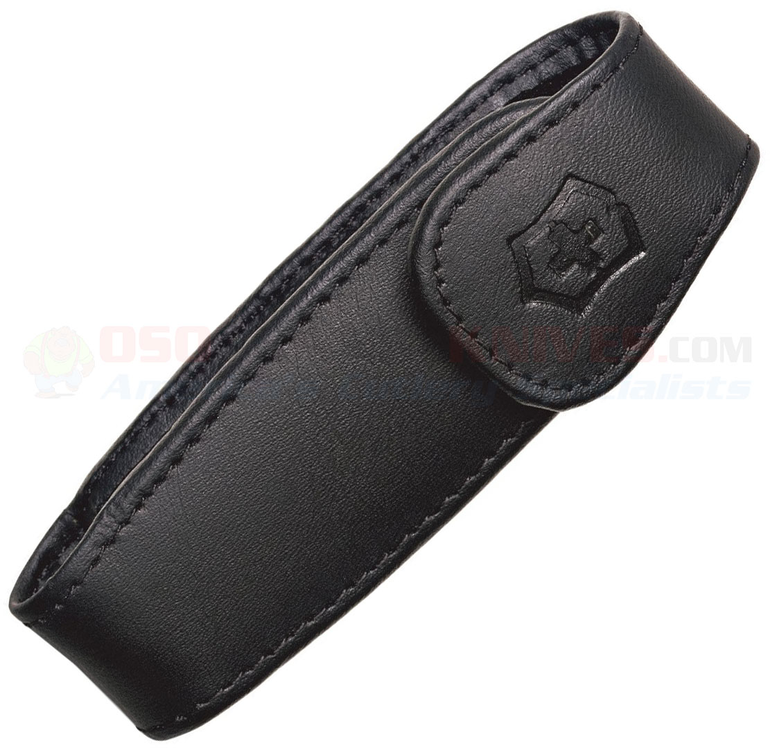 Victorinox Swiss Army Expandable Leather Clip Belt Pouch