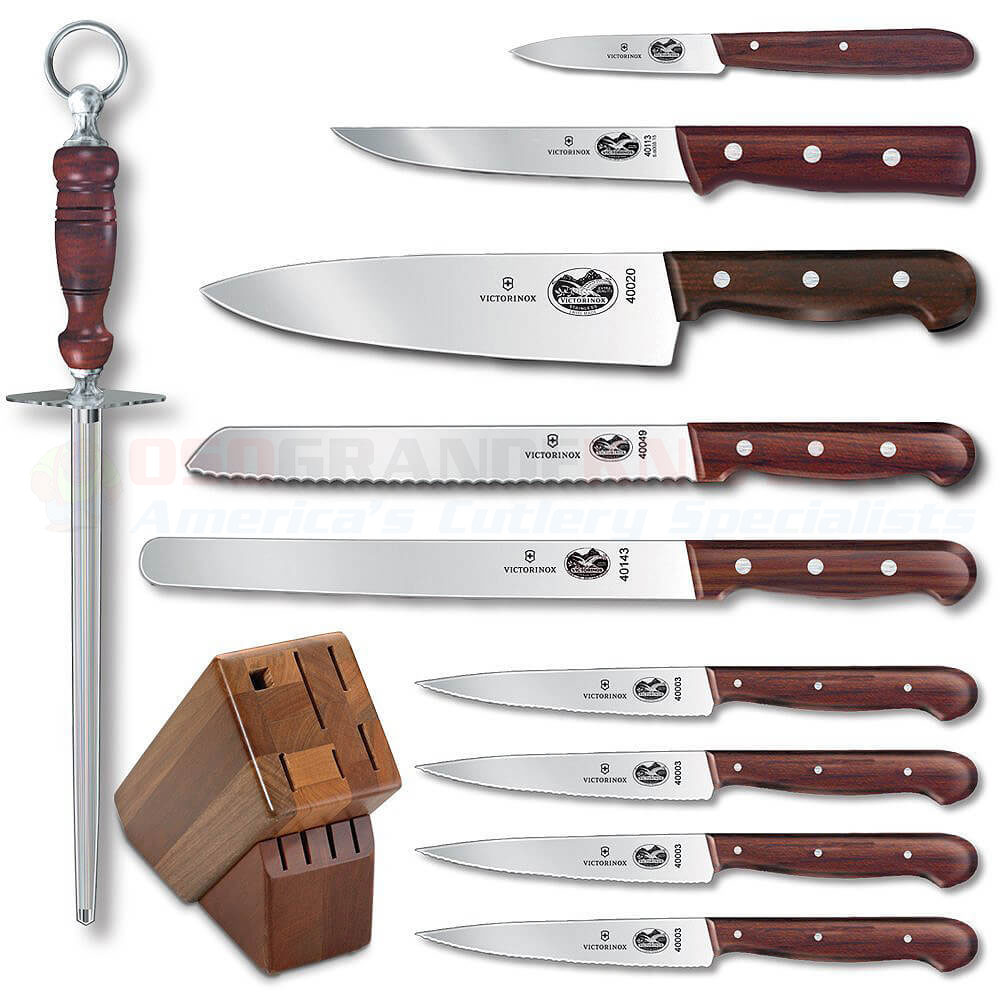 Victorinox Forschner 46153 11 Piece Kitchen Block Set