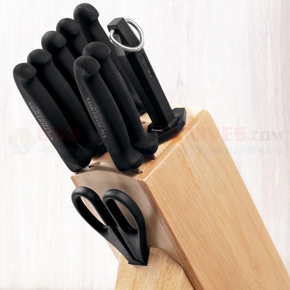 victorinox forschner 48891 hardwood kitchen knife block. Black Bedroom Furniture Sets. Home Design Ideas