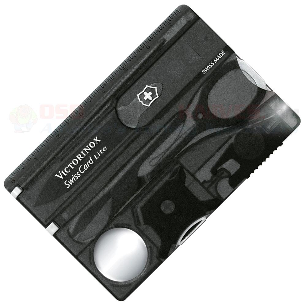 6e18dd3f5ac Victorinox Swiss Army 53333 SwissCard Lite Onyx