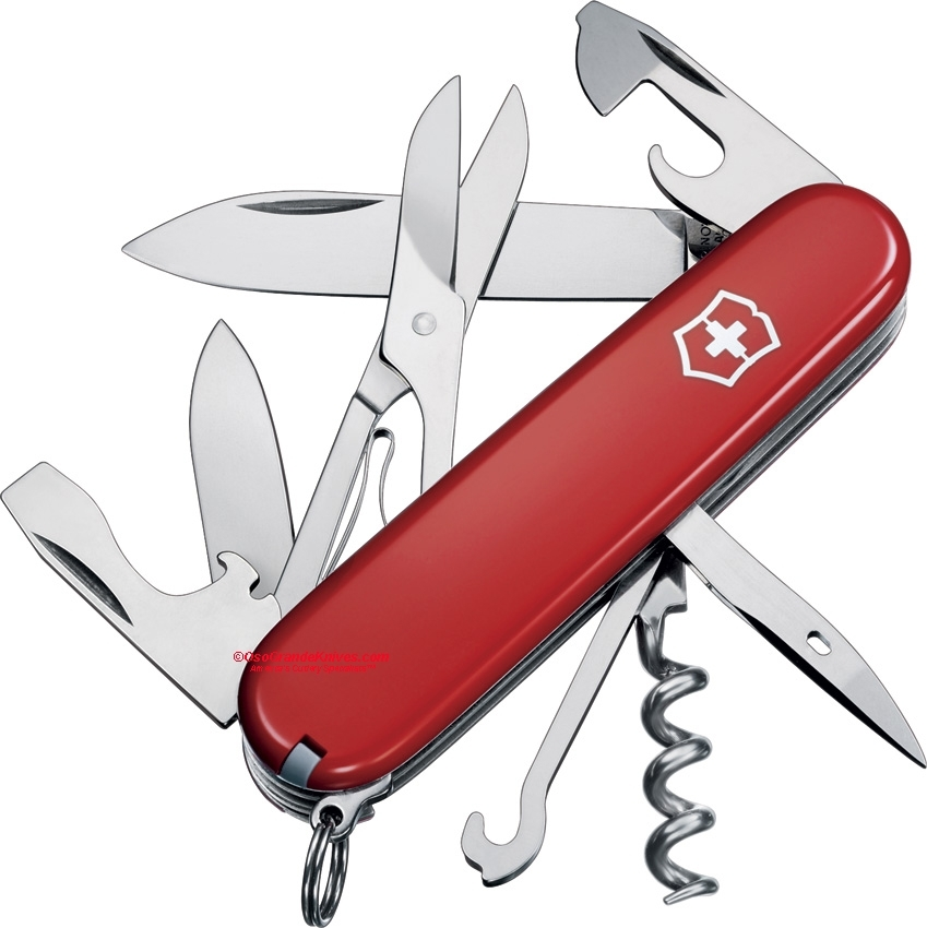 Victorinox Swiss Army Climber Knife Red 53381