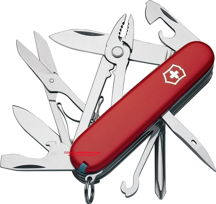 Victorinox Swiss Army 53481 Deluxe Tinker Red 91mm