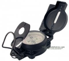Cammenga B3HCS Swat Black Tritium Lensatic Compass with Pouch