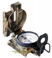 Cammenga 3H-91 GI Tritium Lensatic Compass with Pouch, Realtree Camo