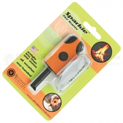 UST Ultimate Survival Sparkie Fire Starter (2.3 Inches Closed) Orange Rubberized Grip 0201