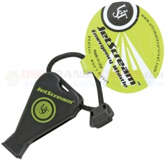 Ultimate Survival 1002 JetScream Emergency Whistle, Black