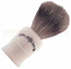 Colonel Conk Best Badger Shave Brush (4.125 Inches Tall) Cream Handle 1016