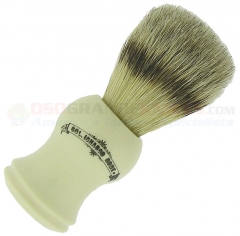 Colonel Conk Bristle/Badger Blend Shave Brush (4 Inches Tall) Faux Ivory Handle 1482