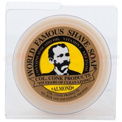 Colonel Conk 158 Almond Super Bar Shave Soap 3.25 oz.