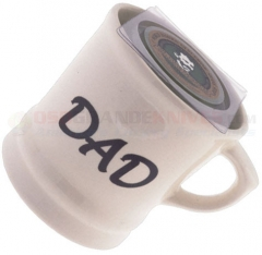 Colonel Conk 5 Dad Shave Mug, Fits Small 2.25 oz. Soap, USA