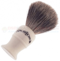 Colonel Conk Super Badger Shave Brush (4.25 Inches Tall) Cream Handle 850