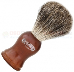 Colonel Conk Mixed Badger Shave Brush (4.125 Inches Tall) Rosewood Handle 903