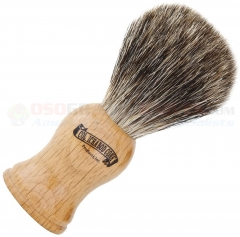 Colonel Conk Mixed Badger Shave Brush (4.25 Inches Tall) Beechwood Handle 904