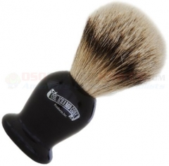 Colonel Conk Silver Tip Badger Shave Brush (4.125 Inches Tall) Ebony Handle 920