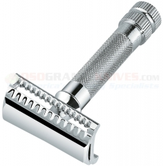 Merkur HD Slant Bar Safety Razor (Chrome Finish) 37 001