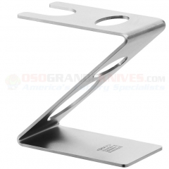 Dovo Straight Razor Brush Stand (Stainless Steel Satin Finish) 499906