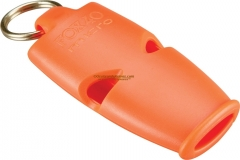 Fox 40 Micro Pealess Safety Whistle Orange (2 x 1 x 0.5 inches) 120DB Sound Rating 09533