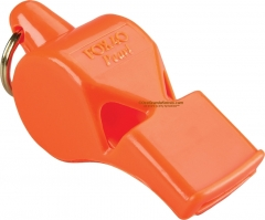 Fox 40 Pearl Safety Whistle Orange 2 Chamber Pealess (2.25 x .81 Inches) 90DB Sound Rating 19102