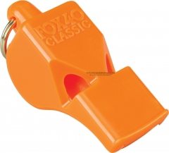 Fox 40 Classic Safety Whistle Orange 3 Chamber Pealess (2.25 x .75 Inches) 115DB Sound Rating 34044