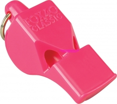 Fox 40 Classic Safety Whistle Pink 3 Chamber Pealess (2.25 x .75 Inches) 115DB Sound Rating 34045