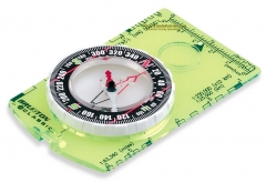 Brunton F-8010G Compass, Base Plate Compass, Magnifier, Luminescent