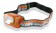 Brunton F-RL4 Headlamp, 3 Bright White/1 Red LEDs