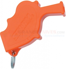 All Weather STORM Safety Whistle Orange (3.25 x 2.0 Inches) 130DB Sound Rating