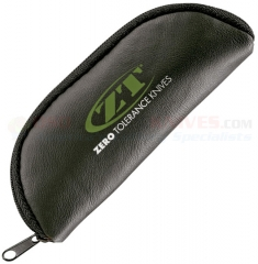 Zero Tolerance Pouch Zipper Case, Fits up to 5.25 Inch Folding Knives