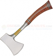 Estwing 24A Sportsmans Axe, Laminated Leather Handle, 14 Inch