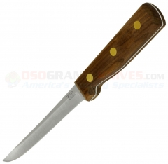 Chicago Cutlery 62S Boner/Utility Knife (5 Inch High Carbon Stainless Steel Blade) Walnut Handle