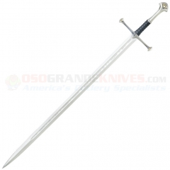 United Cutlery Lord Of the Rings Anduril Sword of Aragon (40.62 Inch Blade) Leather Wrapped Handle 1380S