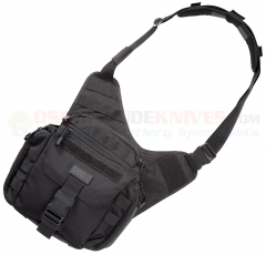 5.11 Tactical Push (Practical Utility Shoulder Hold-all) Push Pack Tactical Shoulder Bag (Black) 56037BK