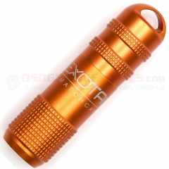 Exotac MATCHCAP Survival Match Case w/ Striker (Aluminum Waterproof Capsule) Orange ET1003ORG