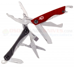 Gerber Dime Micro Multi-Tool Mini (2.75 Inch Closed) Red 30-000417